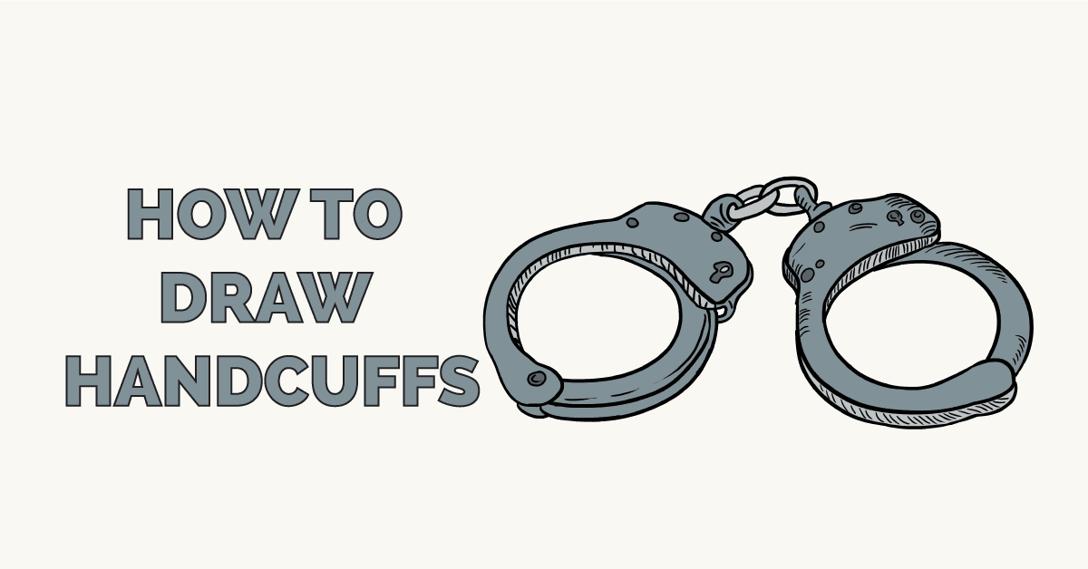 How to Draw Handcuffs Featured Image
