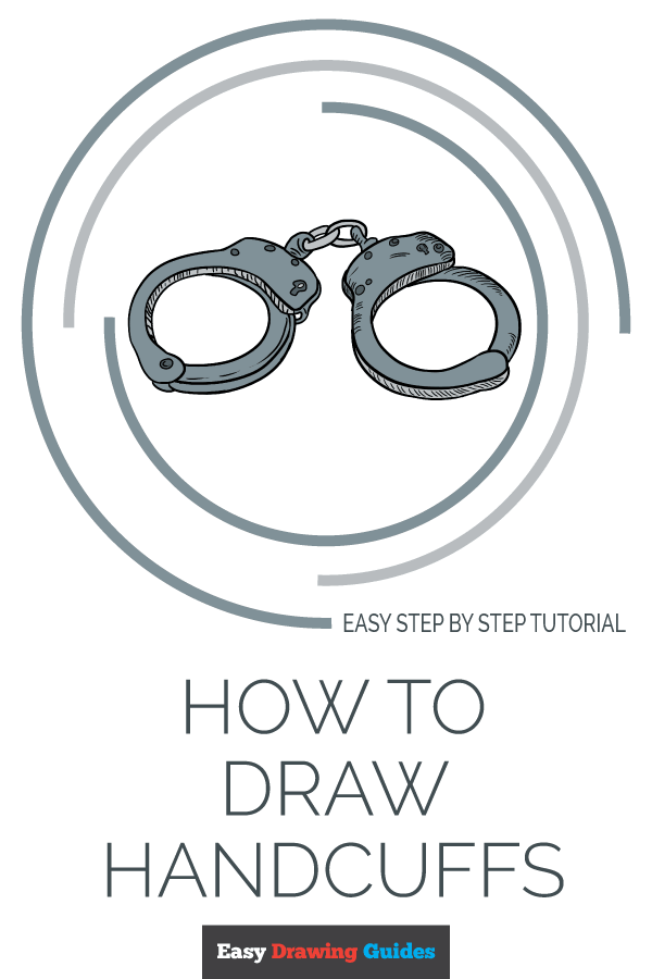 How to Draw Handcuffs | Share to Pinterest
