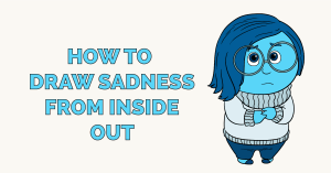 How to Draw Sadness from Inside Out Featured Image