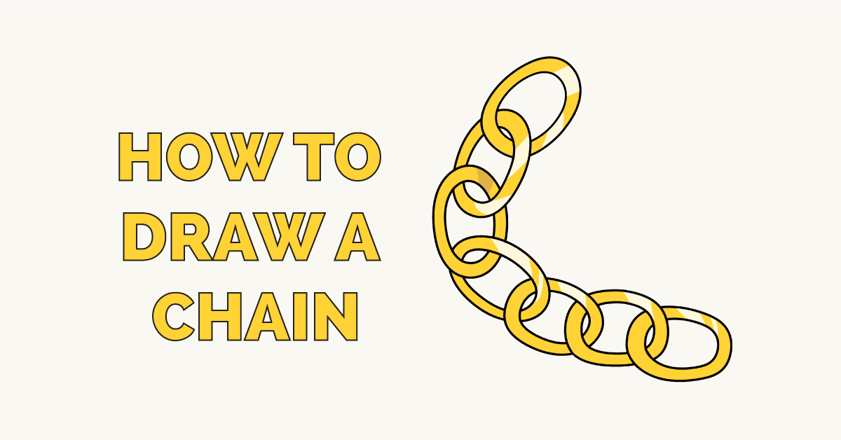 How to Draw a Chain Featured Image