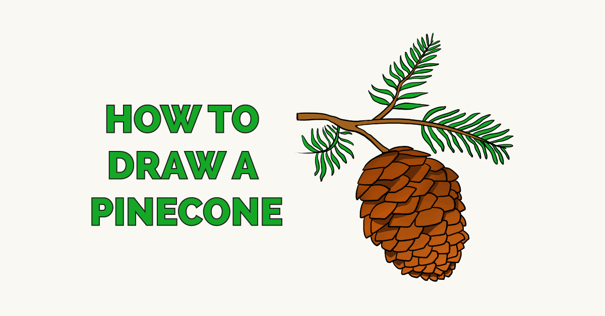 How to Draw a Pinecone Featured Image
