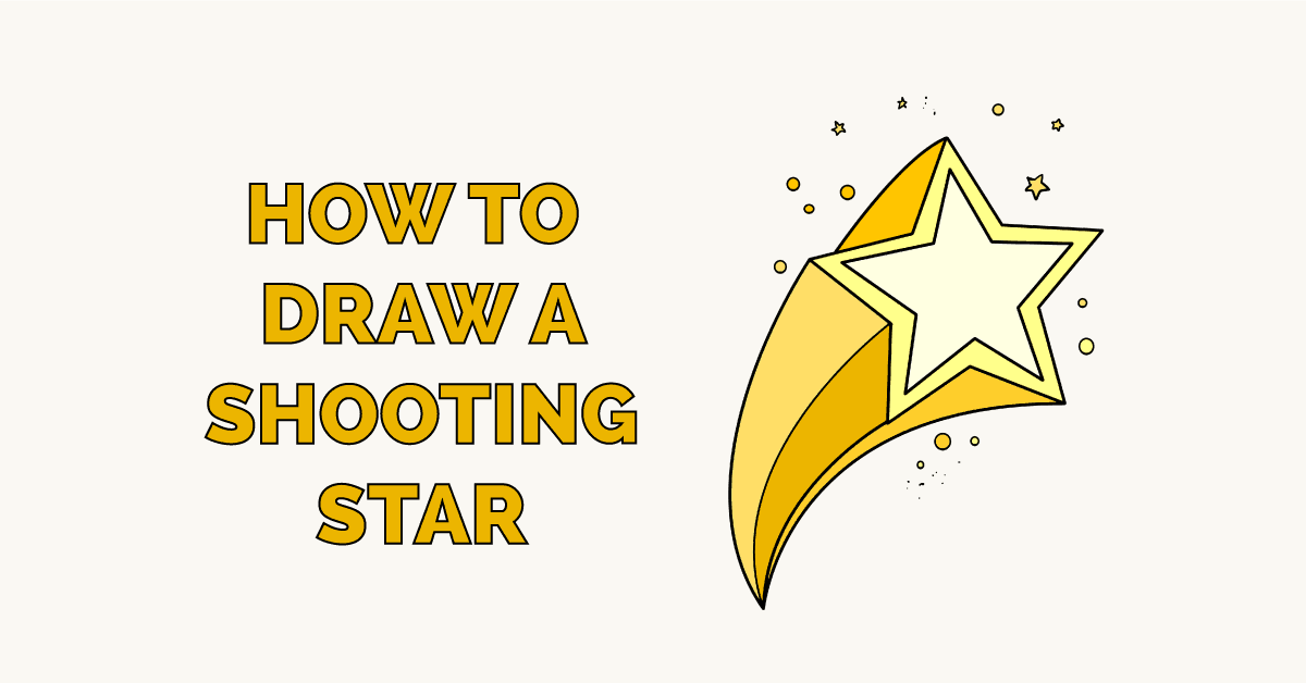 How to Draw a Shooting Star Featured Image