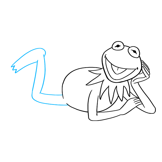 How to Draw Kermit the Frog Step 08