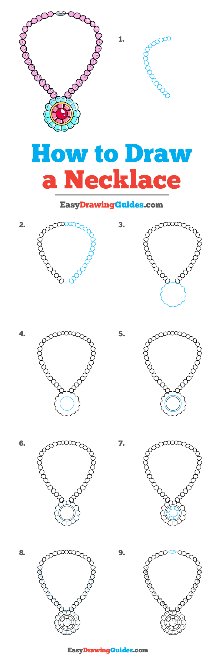 How to Draw Necklace
