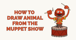 How to Draw Animal from the Muppet Show Featured Image