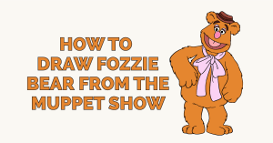 How to Draw Fozzie Bear from the Muppet Show Featured Image
