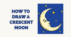 How to Draw a Crescent Moon Featured Image