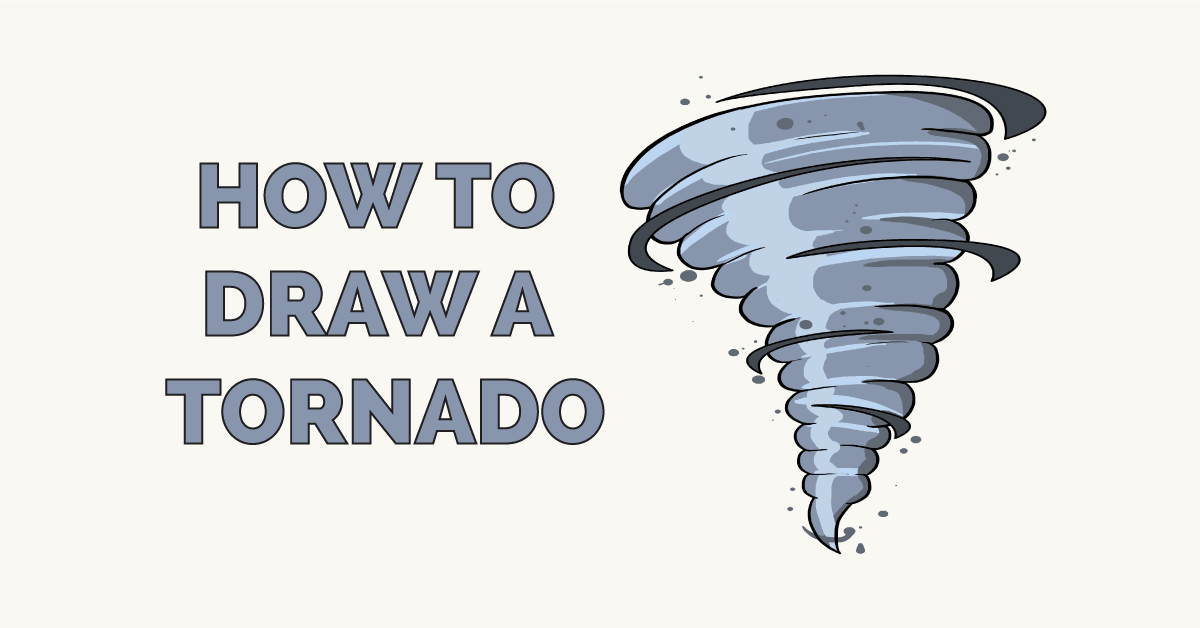 How to Draw a Tornado Featured Image