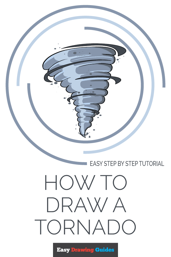 How to Draw Tornado | Share to Pinterest