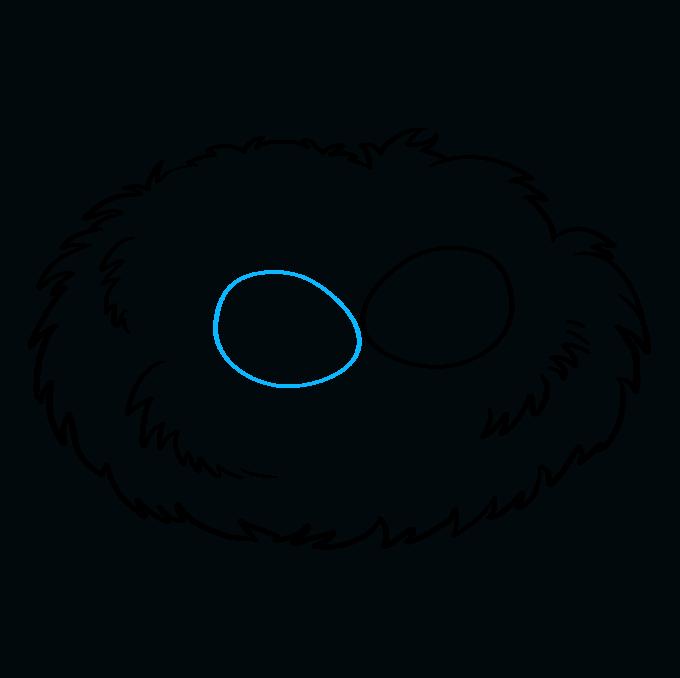 How to Draw Bird Nest: Step 5
