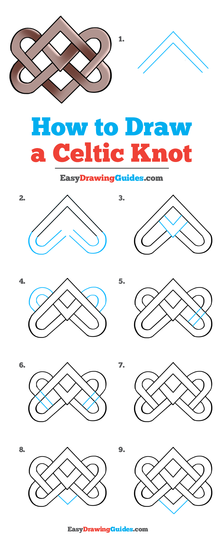 How to Draw Celtic Knot