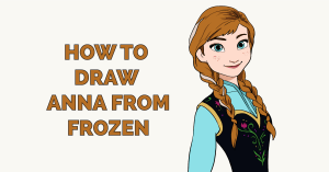 How to Draw Anna from Frozen Featured Image
