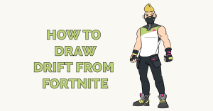 How to draw Drift from Fortnite Featured Image