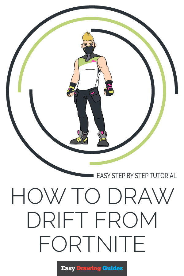How to Draw Drift from Fortnite | Share to Pinterest