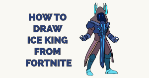 How to Draw Ice King from Fortnite Featured Image