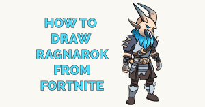 How to Draw Ragnarok from Fortnite Featured Image