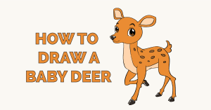 How to Draw a Baby Deer Featured Image