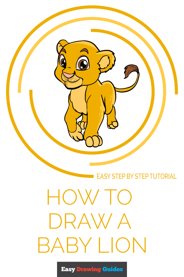How To Draw A Baby Lion Really Easy Drawing Tutorial Here presented 44+ lion head outline drawing images for free to download, print or share. how to draw a baby lion really easy