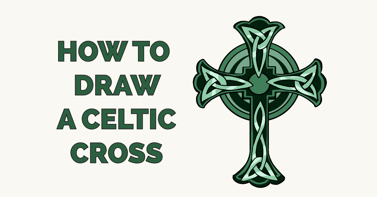 How to Draw a Celtic Cross Featured Image