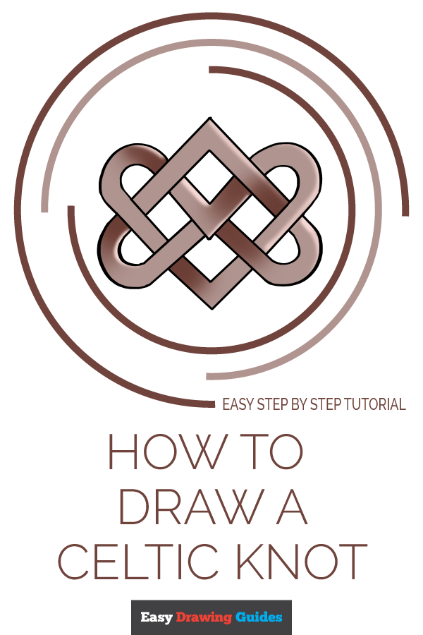 How to Draw Celtic Knot | Share to Pinterest