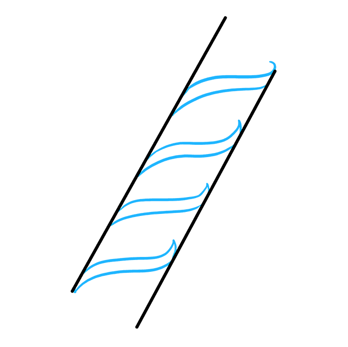 How to Draw DNA Step 02