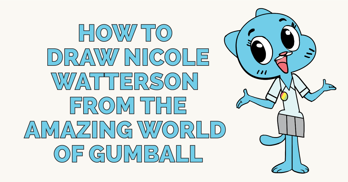 How to Draw Nicole Watterson from the Amazing World of Gumball Featured Image