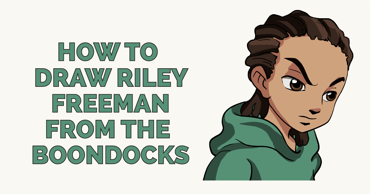 How to Draw Riley Freeman from the Boondocks Featured Image