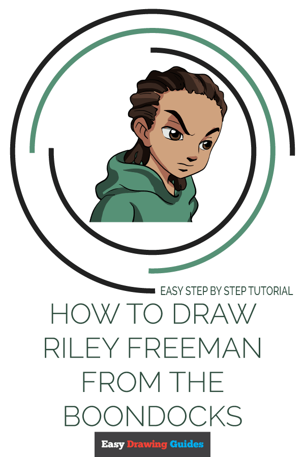 How to Draw Riley Freeman | Share to Pinterest