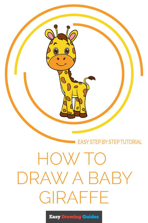 How to Draw Baby Giraffe | Share to Pinterest