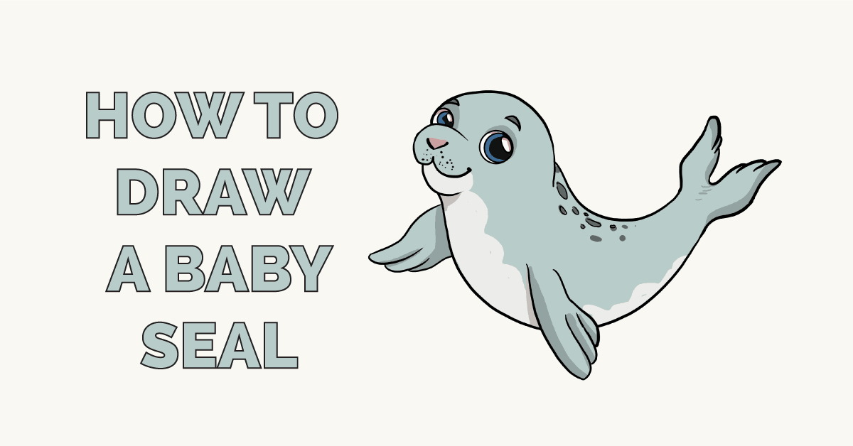 How to Draw a Baby Seal Featured Image