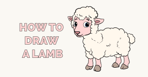 How to Draw a Lamb Featured Image