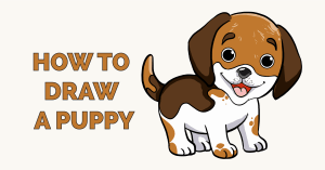 How to Draw a Puppy Featured Image