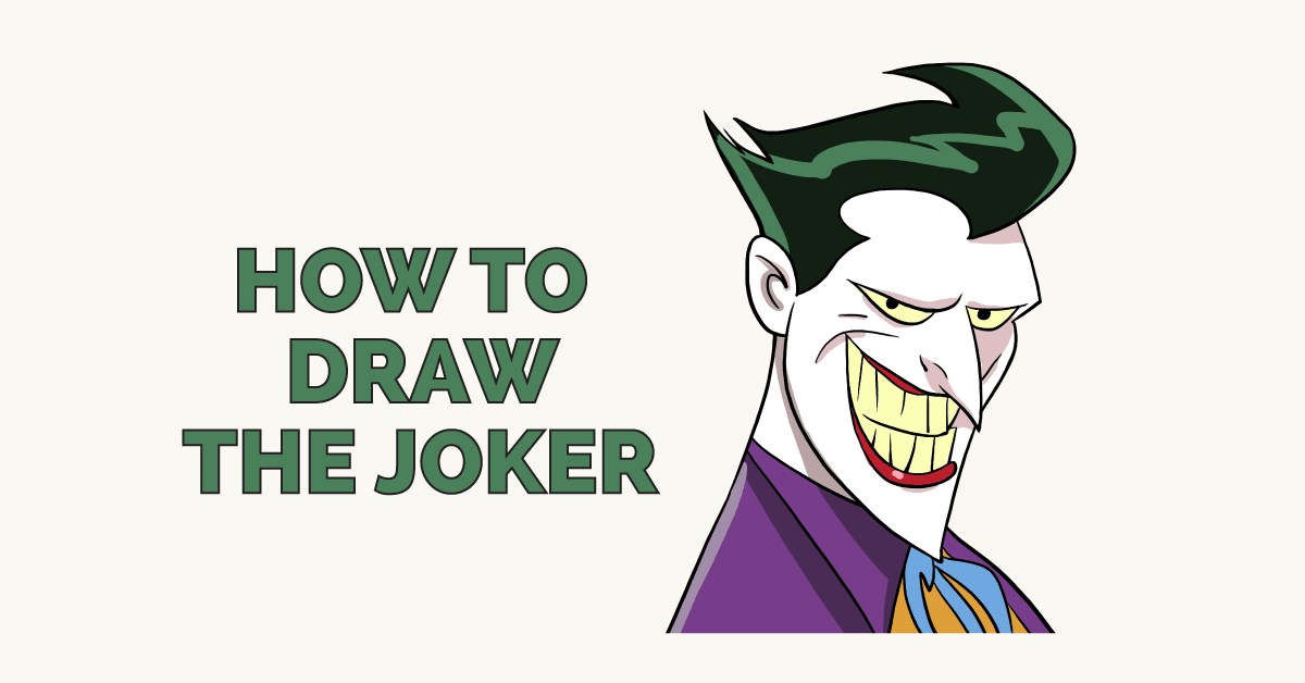 How to Draw the Joker Featured Image