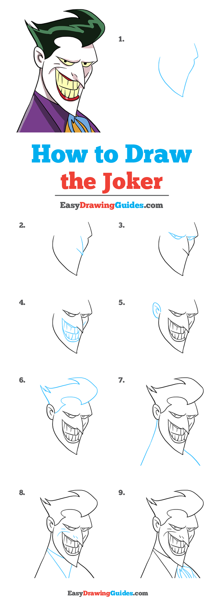 How to Draw Joker