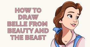 How to Draw Belle from Beauty and the Beast Featured Image