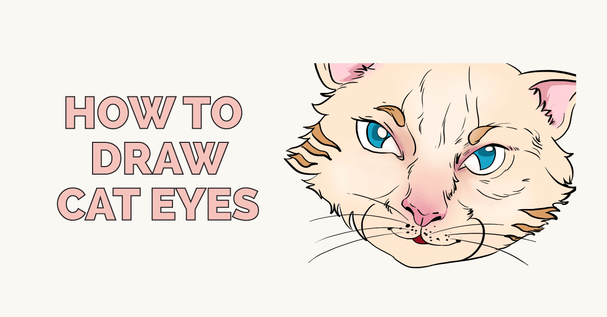 How to Draw Cat Eyes Featured Image