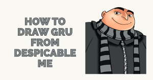 How to Draw Gru from Despicable Me Featured Image