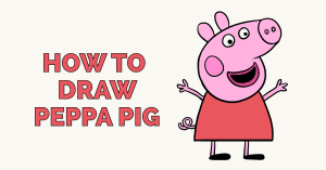 How to Draw Peppa Pig Featured Image