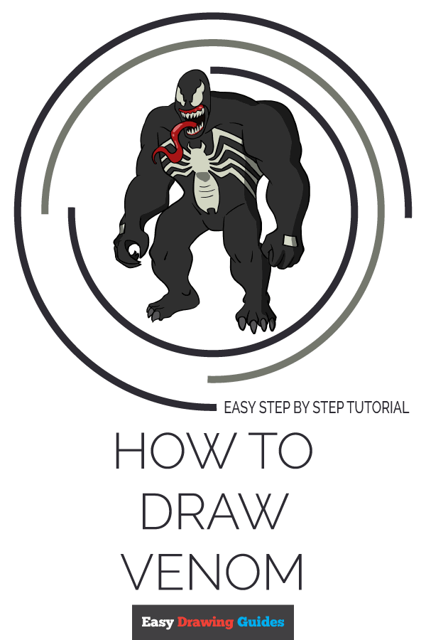How to Draw Venom Pinterest Image