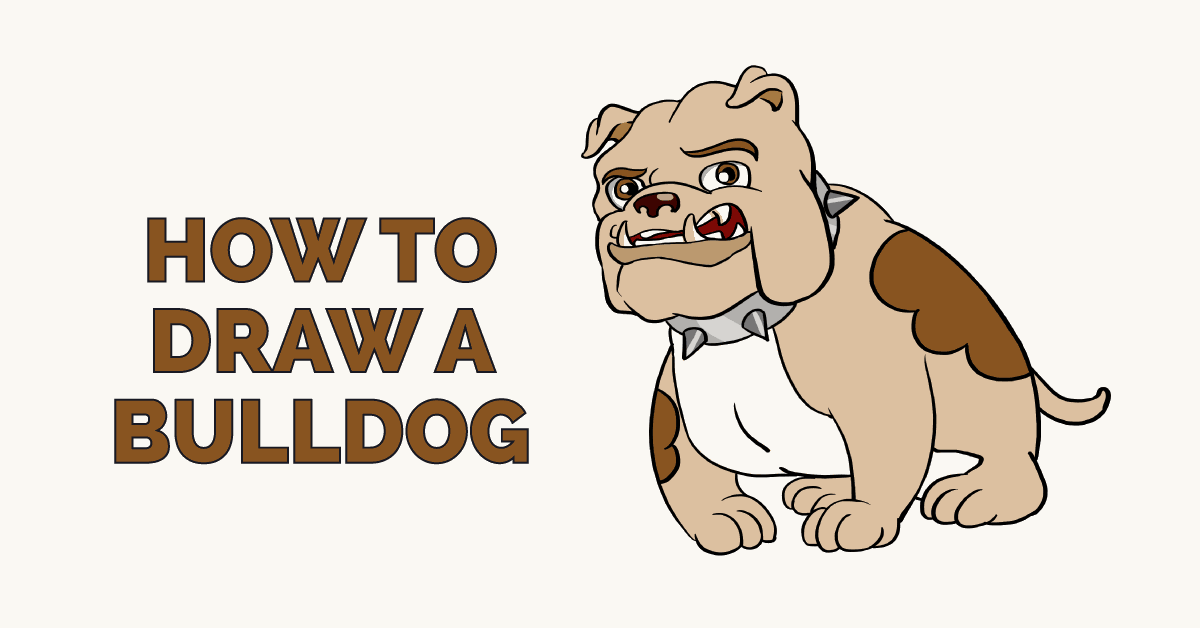 How to Draw a Bulldog Featured Image