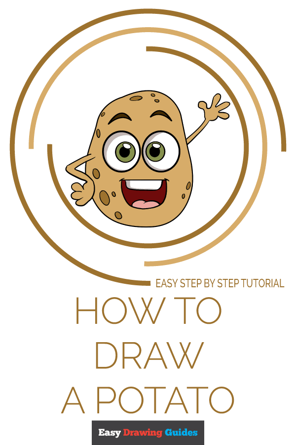 How to Draw Potato | Share to Pinterest