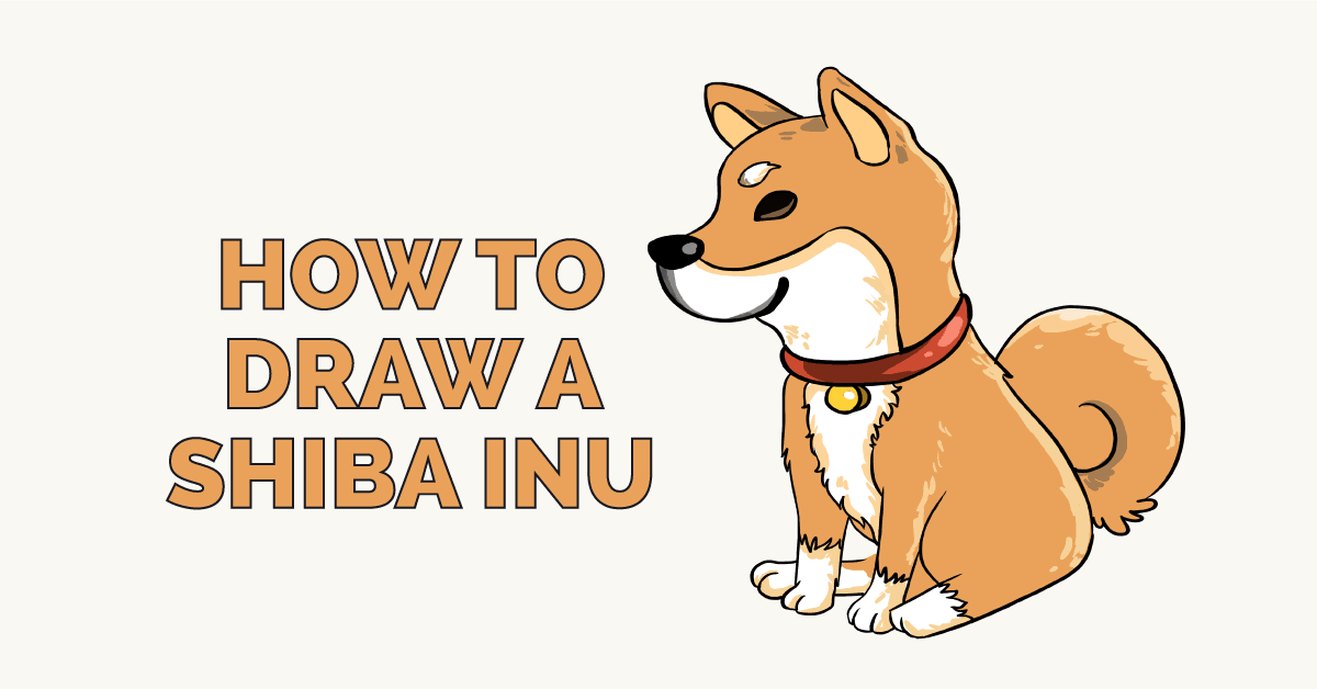 How to Draw a Shiba Inu Featured Image