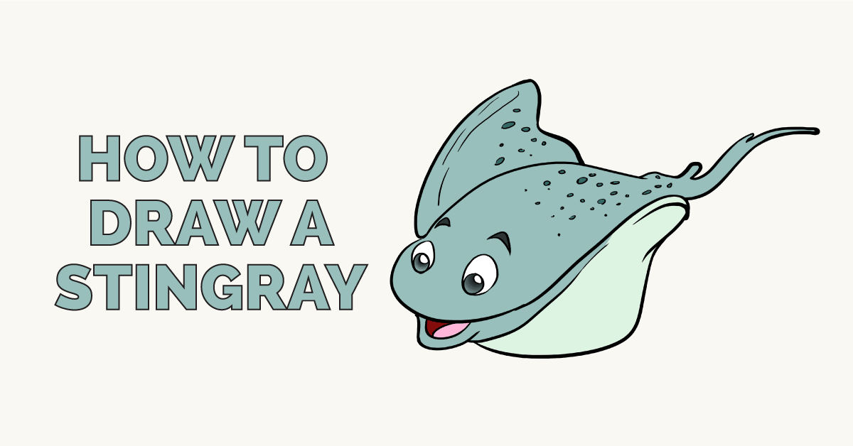 How to Draw a Stingray Featured Image