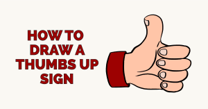 How to Draw a Thumbs up Sign Featured Image
