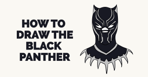 How to Draw the Black Panther Featured Image