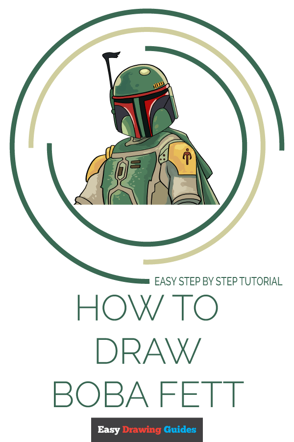 How to Draw Boba Fett | Share to Pinterest