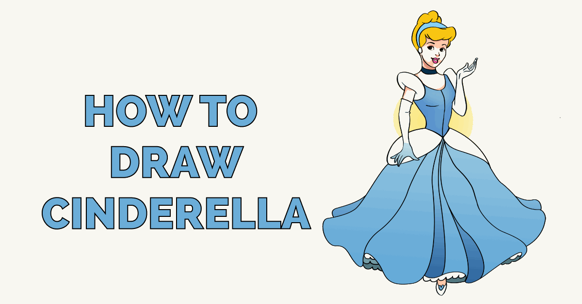 How to Draw Cinderella Featured Image