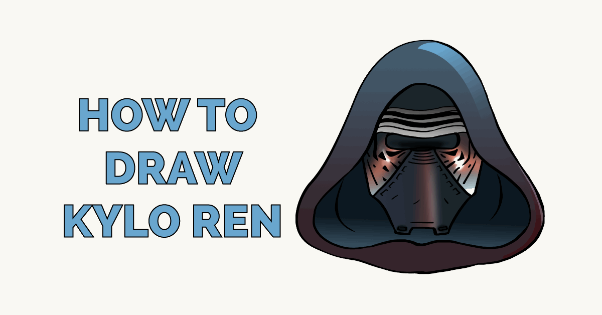 How to Draw Kylo Ren Featured Image