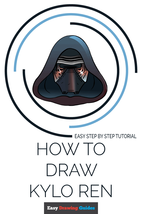 How to Draw Kylo Ren | Share to Pinterest