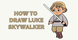 How to Draw Luke Skywalker Featured Image